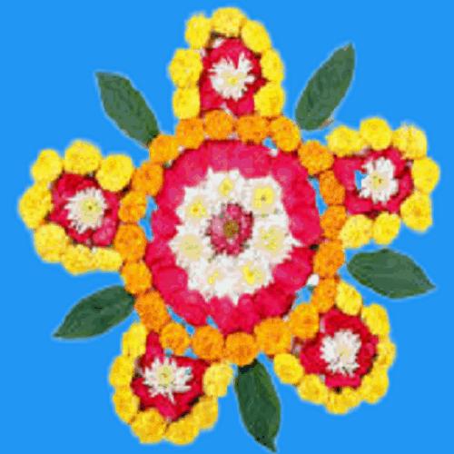 Image of Flower for Google Pay Diwali Scanner